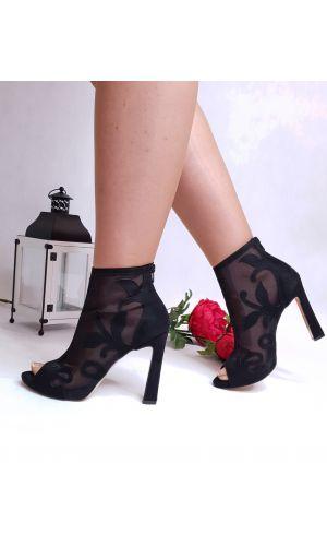 Dámske členkové topánky Ebony